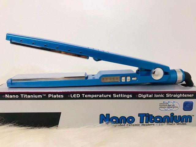 Prancha nano Titanium