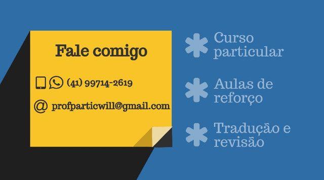 Aula Particular de Inglês Online e Presencial | Curso Particular Curitiba - Foto 2