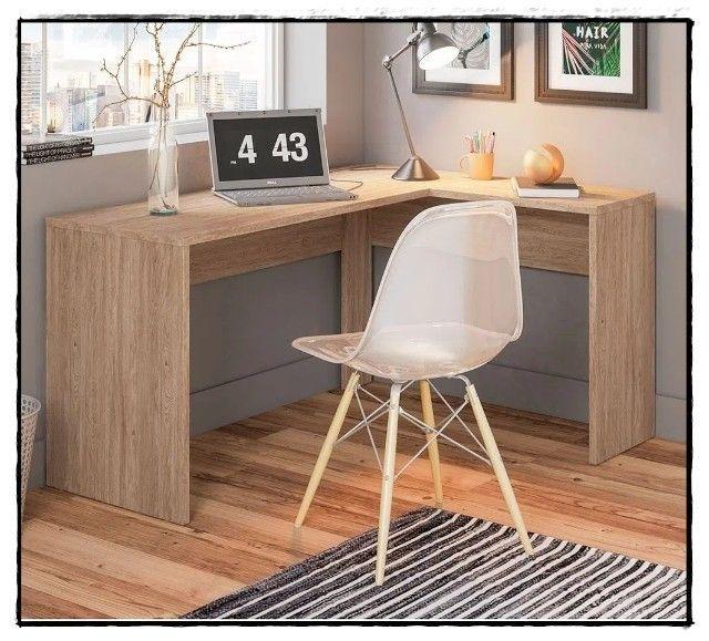Mesa em L - Pretty - Direto Fábrica