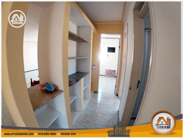 Apartamento com 3 dormitórios à venda, 120 m² por R$ 320.000,00 - Montese - Fortaleza/CE - Foto 10