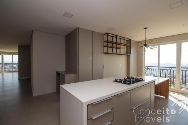Apartamento à venda com 3 dormitórios em Jardim carvalho, Ponta grossa cod:391691.001 - Foto 7