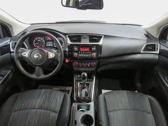 Nissan Sentra 2.0 S Flex Cambio CVT 2019 apenas 15.000 Km rodados  - Foto 10