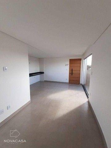 Cobertura com 2 dormitórios à venda, 119 m² por R$ 523.360,95 - Salgado Filho - Belo Horiz - Foto 5
