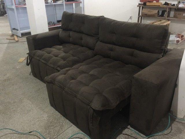 Sofá de luxo Retrátil e reclinável  - Foto 4