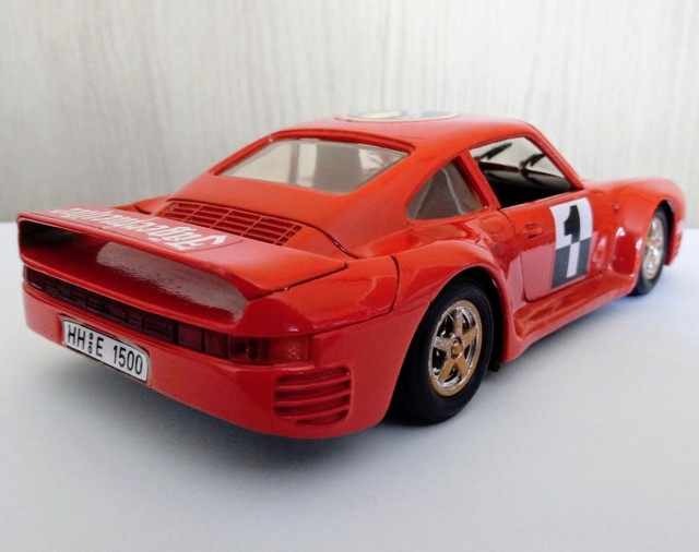 Porsche 959B - Revell 1/24 - Foto 6