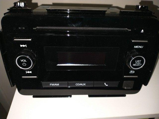 Rádio Am-Fm, cd players, auxiliar original Honda Hrv- 2016. - Foto 4