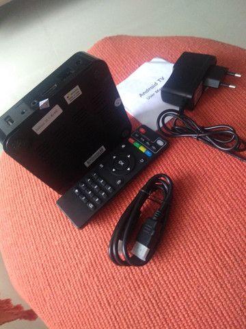Tv Box Android (10.0) - Mx Q Pro (4k) (ram 4gb, Rom 64gb)5g - Foto 4