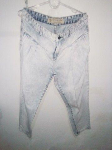 Calça Jeans 42 da Le lis blanck Semi nova R$ 69.00 - Foto 2