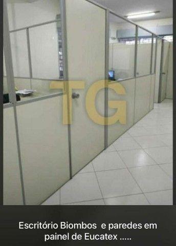 Salas escritórios em painel de Eucatex naval 35mm  - Foto 5