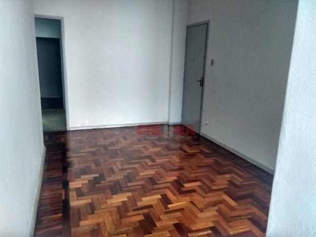 Apartamento com 2 dormitórios para alugar, 85 m² por R$ 1.000,00/mês - Centro - Niterói/RJ - Foto 12