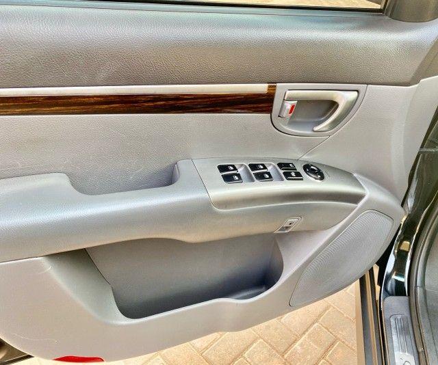Hyundai Santa Fe 2011 3.5 v6 4x4 automático - 7 lugares- Teto solar- 285cv - Foto 16