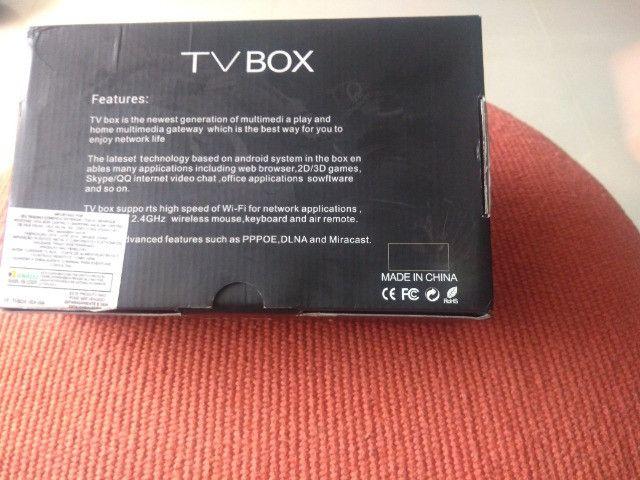 Tv Box Android (10.0) - Mx Q Pro (4k) (ram 4gb, Rom 64gb)5g - Foto 5