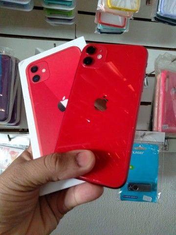iPhone 11 red 64GB garantia Apple  - Foto 4