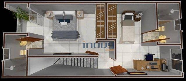 Casa com 3 dormitórios à venda, 75 m² por R$ 185.000,00 - Luzardo Viana - Maracanaú/CE - Foto 3