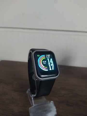 Relogio Smartwatch Preto / Cinza