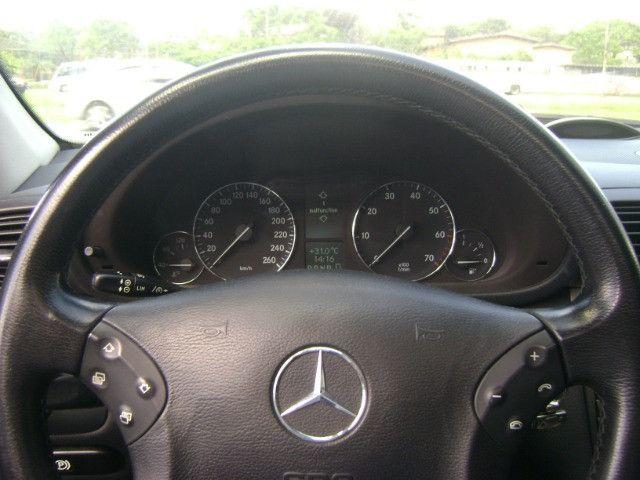 Mercedes Benz C 320 Avantgarde V6 Top de Linha 2005 Teto Solar Abaixo da Fipe C320 - Foto 12
