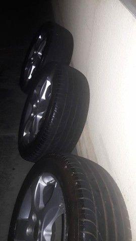 Venda.. rodas 16 do sportline ,pneus meia vida,+ Amortecedores dianteiro e traseiro