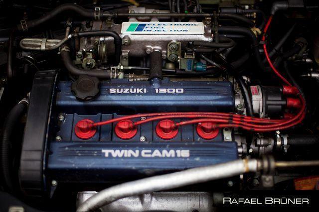 Motor completo + caixa Swift GTi 1.3 16v