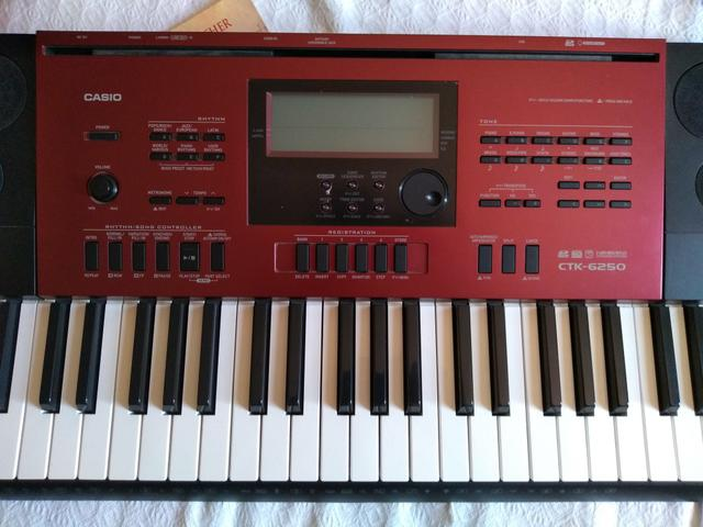 fc7f918068c Teclado Casio CTK 6250 (Somente venda) - Instrumentos musicais ...