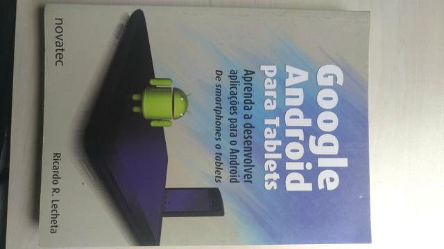 Livro Google Android para Tablets