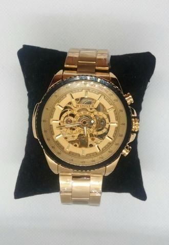 ea0efef7722 Relógio mecânico automático