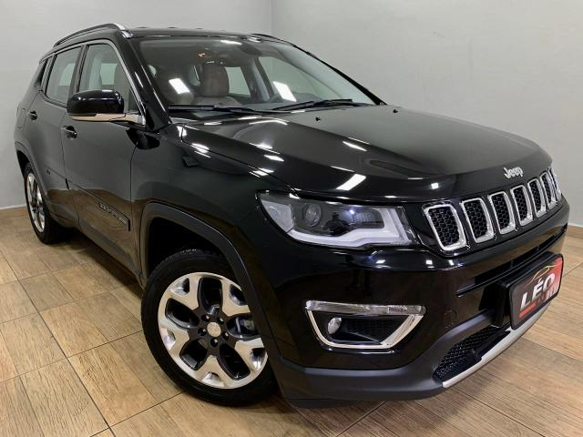 Jeep compass limited 2018 automática. léo careta veículos - Foto 7