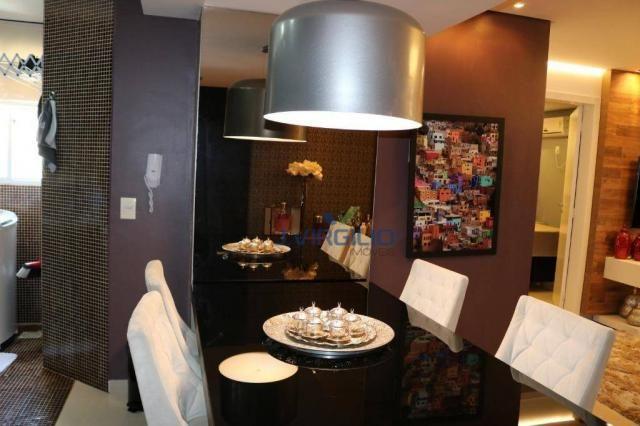 Apartamento com 2 dormitórios à venda, 54 m² por r$ 180.000 - setor dos afonsos - aparecid - Foto 10