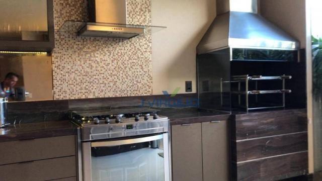 Apartamento triplex com 4 dormitórios à venda, 400 m² por r$ 1.399.000,00 - setor nova sui - Foto 3