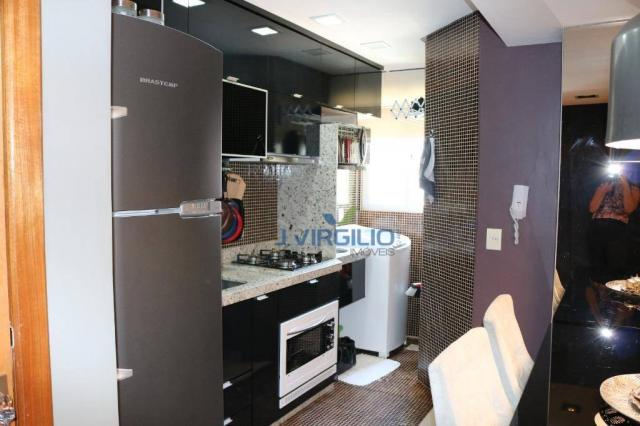 Apartamento com 2 dormitórios à venda, 54 m² por r$ 180.000 - setor dos afonsos - aparecid - Foto 13