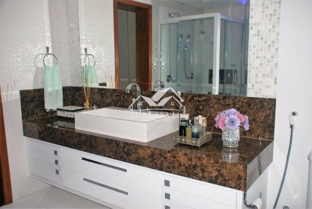 Ótima Mansão Duplex com 4 suítes, possui Hidro e Closet. Cond. Boulevard Lagoa - Foto 14