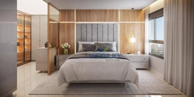 Apartamento com 3 dormitórios à venda, 119 m² por r$ 565.250 - setor bueno - goiânia/go - Foto 2