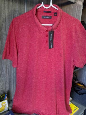 Camisa Polo Reserva (Tam. GG, mas serve G) (Modelagem Slim) - Foto 2