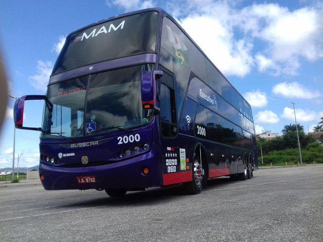 Ônibus DD scania k124 - Foto 4