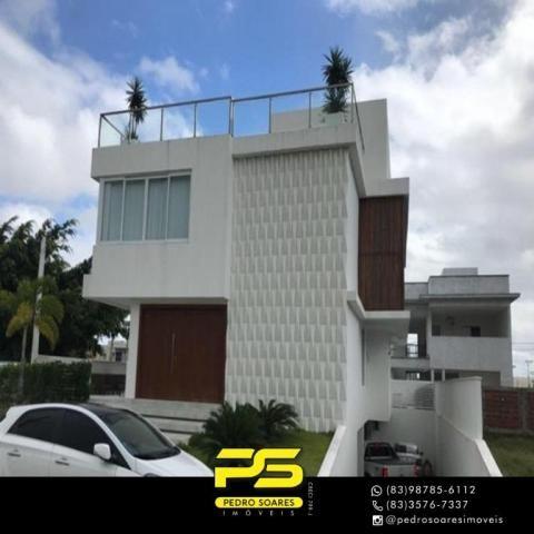 Casa com 5 dormitórios à venda, 381 m² por R$ 2.400.000 - Intermares - Cabedelo/PB