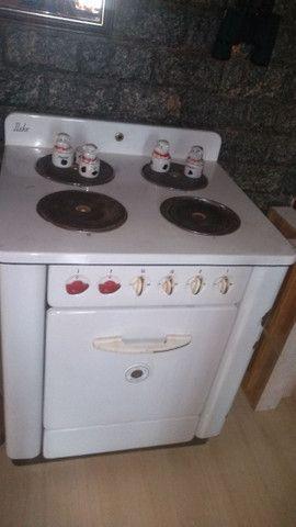 Fogão antigo para restaurar elétrico - Foto 4