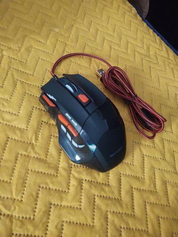 Mouse gamer com leds e DPI 2400 - Foto 3