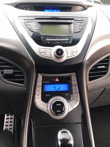 Hyundai elantra gls 2012 preto teto solar - Foto 5