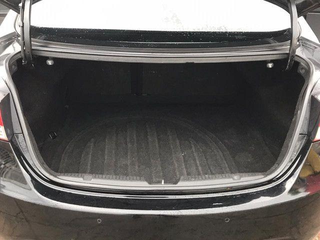 Hyundai elantra gls 2012 preto teto solar - Foto 7
