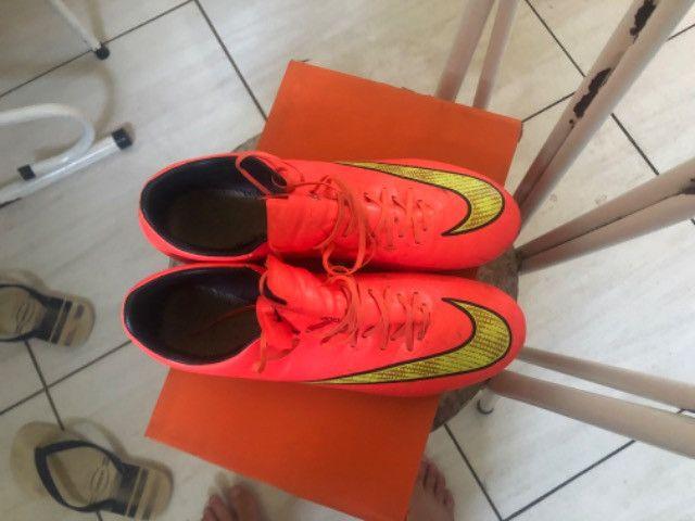 Chuteira Nike Mercurial 1ª Linha - Foto 2