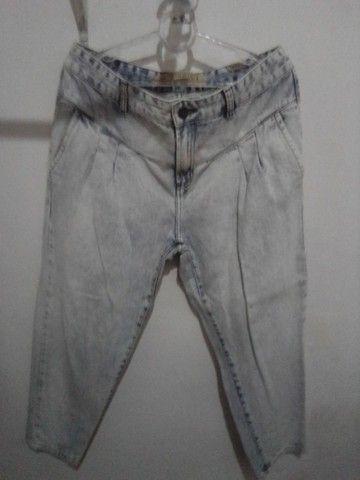 Calça Jeans 42 da Le lis blanck Semi nova R$ 69.00 - Foto 3