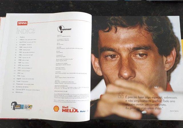 Livro Senna Para Sempre ... Baixou - Foto 2