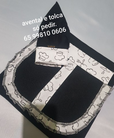 Avental tolcas mascara