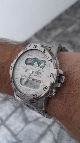 Relógio Magnum divemaster anos 90 , bem raro, relíquia  - Foto 3