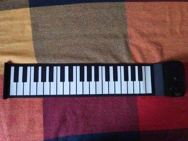 Piano Flexível Portátil