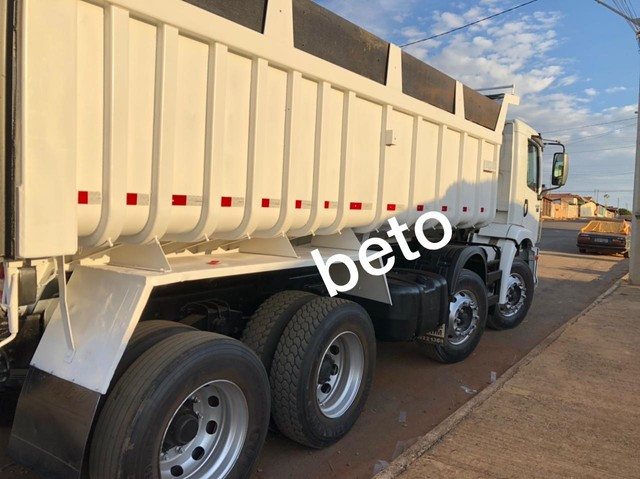 Caminhão Volkswagen 24-250 Bitruck 8x2 Caçamba 11/12 - Foto 8