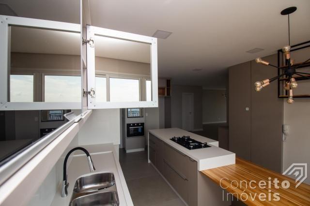 Apartamento à venda com 3 dormitórios em Jardim carvalho, Ponta grossa cod:391691.001 - Foto 11