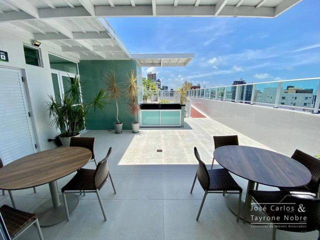 Apartamento de 1 quarto com vista para o mar - Manaira - Foto 5