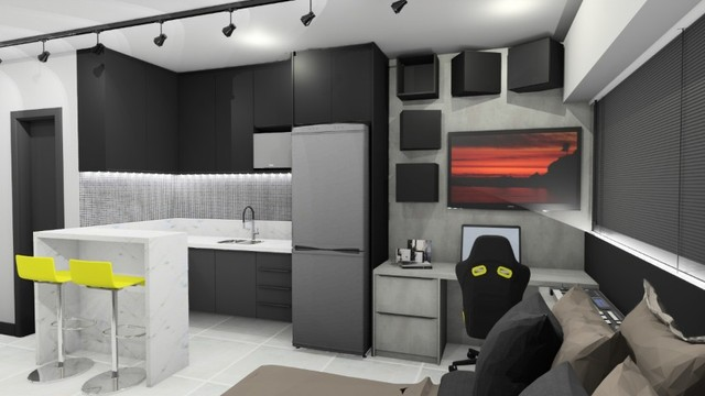 Apartamento no Centro/Kalilandia (Loft/Flat)- Celita Franca / Executive Apart Hotel - Foto 3