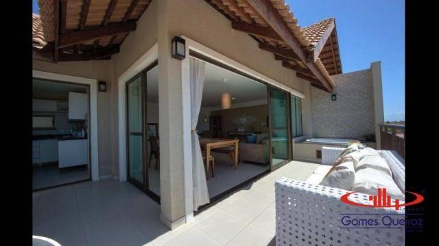 MEDITERRANEE! Apartamento Duplex com 4 dormitórios à venda, 176 m² por R$ 995.000 - Porto  - Foto 13