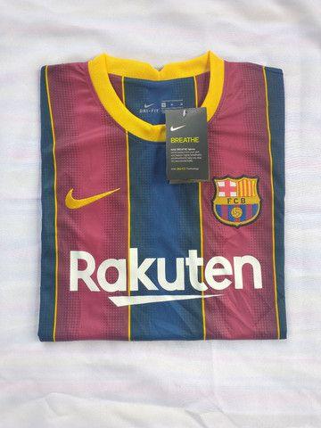 Camisa Barcelona titular